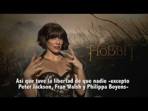 Entrevistas The Hobbit: Evangeline Lilly y Luke Evans