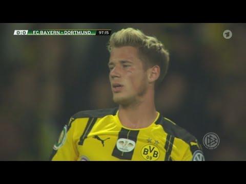 Erik Durm vs. Bayern München | DFB Pokal Finale | 21.05.2016 |ᴴᴰ