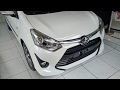 In Depth Tour Toyota Agya 1.2G AT Facelift 2017 -*Tambahan beda ABS juga sama varian TRD S
