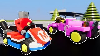 LEGO MARIO KART RACING! - Brick Rigs Multiplayer Gameplay - Lego Mario Kart