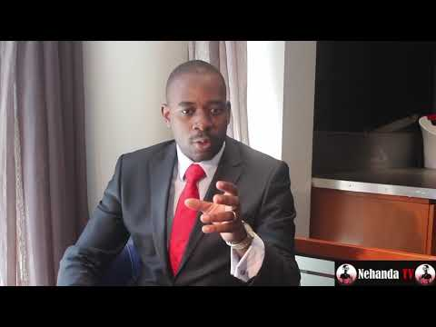 Nelson Chamisa explains joke about his sister and Mnangagwa thumbnail