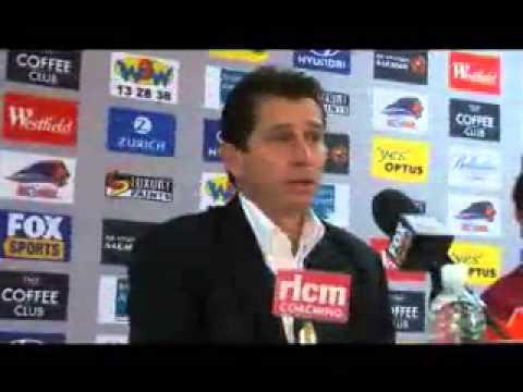 Frank Farina Press Conference