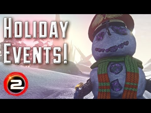 Holiday Events! Snowmen and Snowballs. Discounts and Double EXP! - (PlanetSide 2 Gameplay)
