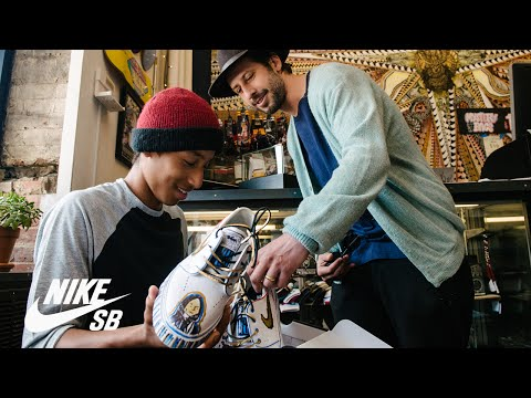 Stefan Janoski and Joel Espinal   Hand Delivered   Nike SB   NIKEiD
