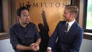 HAMILTON Interview with Lin-Manuel Miranda