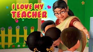 I love My Teacher Balgeet   Hindi Rhymes for Children   Infobells