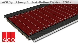 ACO Sport Jump Pit Installation (System 7200)