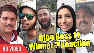 Bigg Boss 11 Winner Announced | Public Reaction | Hina Khan, Shilpa Shinde, Vikas Gupta