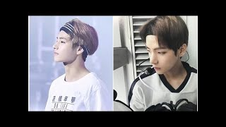 """10+ pictures show off the """"beauty"""" of V (BTS)'s forehead!"""