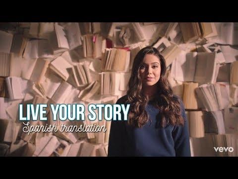 Live Your Story - Auli'i Cravalho - Spanish Translation   Auli'i Cravalho UY