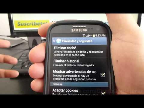como eliminar cache en android samsung galaxy s3 i9300 español Full HD