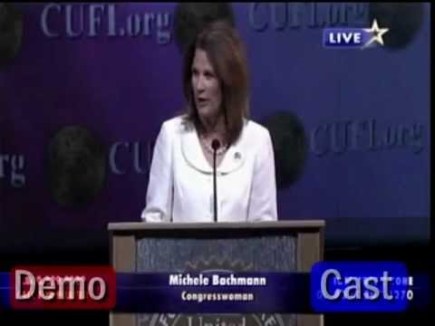 Michelle Bachmann to CUFI: Jihadist infiltrators steering Obama to destroy Israel & America.