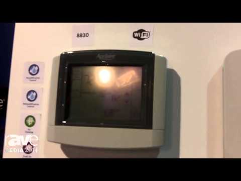 CEDIA 2014: Aprilaire Introduces WiFi Thermostat with Dehumidification and Air Cleaning