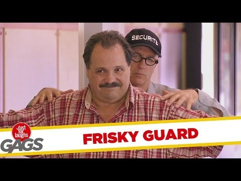 Frisky Gay Security Guard Prank