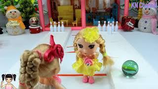 ChiChi ToysReview TV - Trò Chơi cuộc tranh tài chơi bowling gây cấn của búp bê