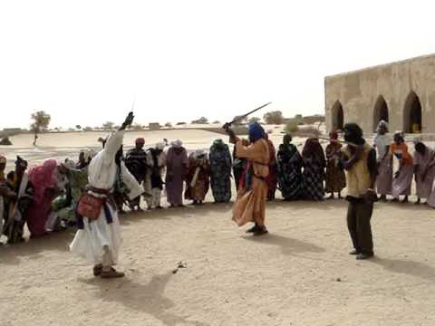 Traditional Tuareg Sword Dancing (Mali)