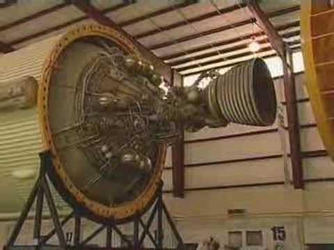Restored Saturn V Rocket