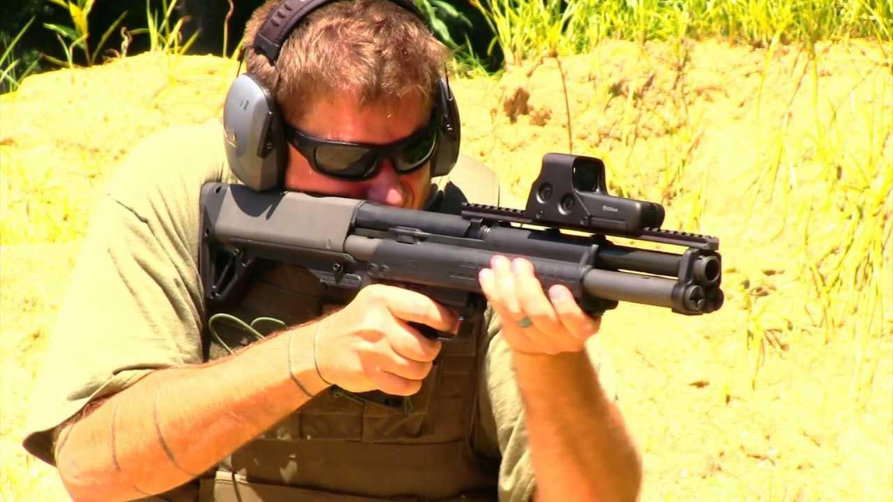 Kel-tec Ksg 12 Gauge 18.5 Inch Bullpup Kel-tec Ksg 12 Gauge Shotgun