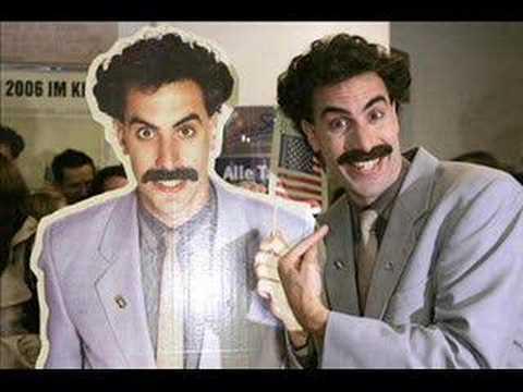 Sasha Baron Cohen feat. DJ Yan - Harder! Faster! Borat!