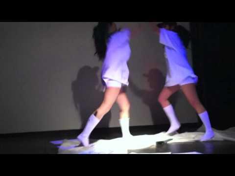 Girl Knife Fight video
