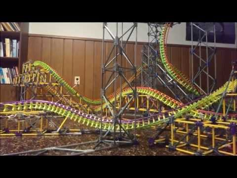 Delusion - K'nex Custom Roller Coaster HD