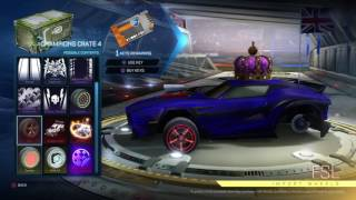 Rocket league - universal decal opening best reaction