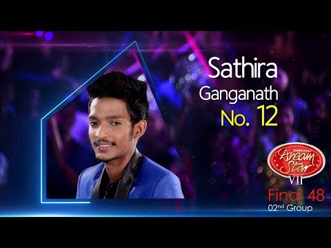 Dream Star Season 7 | Final 48 ( 02nd Group ) Sathira Ganganath - 10-06-2017
