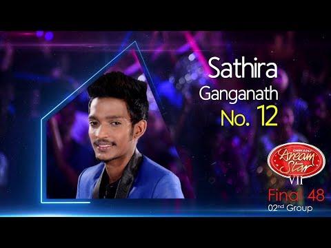 Dream Star Season 7 | Final 48 ( 02nd Group ) Sathira Ganganath - 10-06-2017
