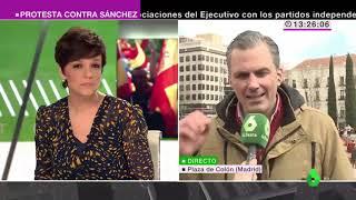 Javier Ortega en La Sexta: