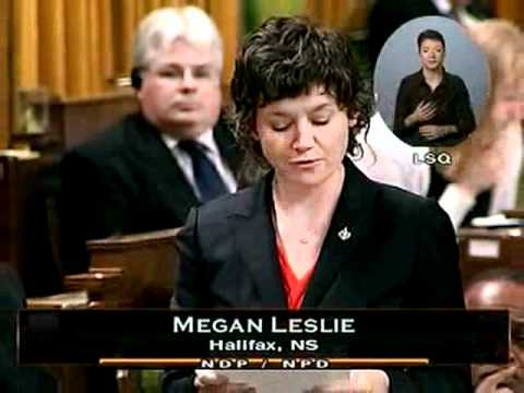 Question Period, 21 October 2011 (Parliament of Canada): The Environment