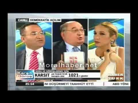 Bekir Bozdağ Kemal Anadol'u fena yakaladı (PKK'YA KİM DESTEK VERMİŞ?)