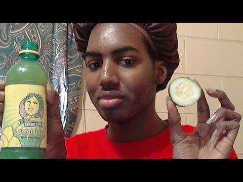 Exfoliating Skin Naturally with Lemon & Cucumber