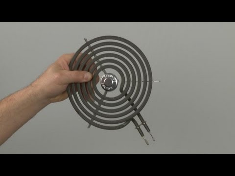 Stove Surface Element Coil Replacement –  GE Electric Stove Top Repair (part #WB30M2)
