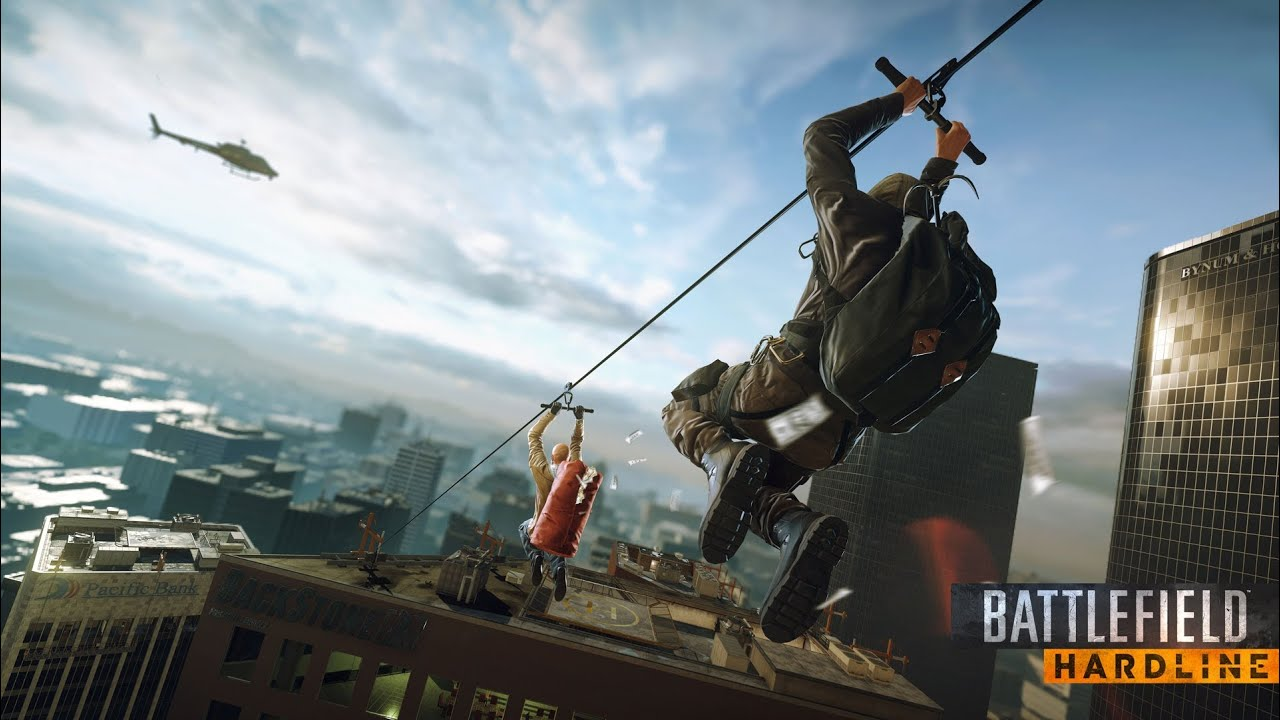 BattleField Hardline Pc Download free pc games - Game Screenshot