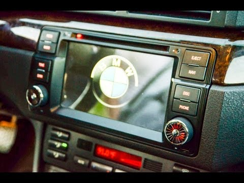BMW E46 DVD Dynavin Autoradio MP3 USB Navigation Touch Review Deutsch [HQ][FHD]