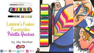 Fusion Funstroke Quickie Face Painting Designs
