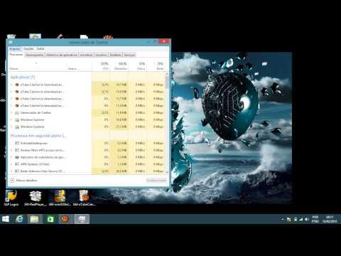 Como Retirar a tela preta da área de trabalho Windows 8 / 8.1