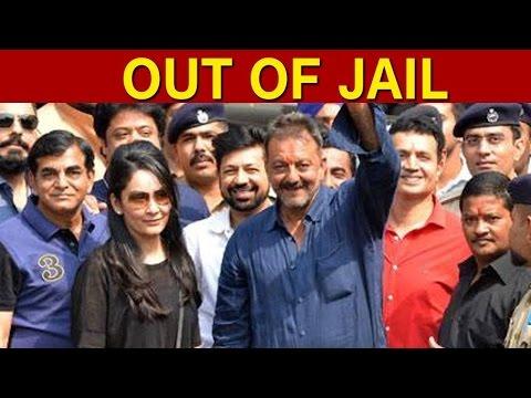 Sanjay Dutt Walks Free Out Of Pune's Yerwada Jail After 42 Months