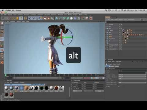Tip58 Add As Parent child Shortcuts In Cinema 4d video