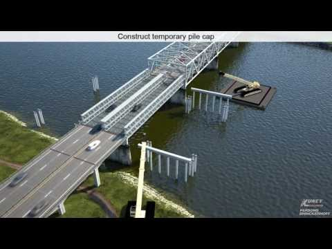 I-5 Skagit River Bridge Project - Visualizing the Construction Process