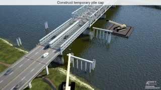 I-5 Skagit River Bridge Project - Visualizing the Construction Process
