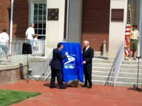 Jimmy Stewart Commemorative Stamp Unveiling In Indiana, PA