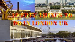 10 Free things to do in London UK