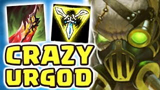 NO ONE CHALLENGES THE URGOD!! JUNGLE URGOT | CRAZIEST BUILD | THE MOST TOXIC CAITLYN - Nightblue3
