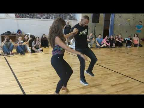 ZoukTime2018: with Mathilde & Alex in Sunday workshop demo ~ Zouk Soul