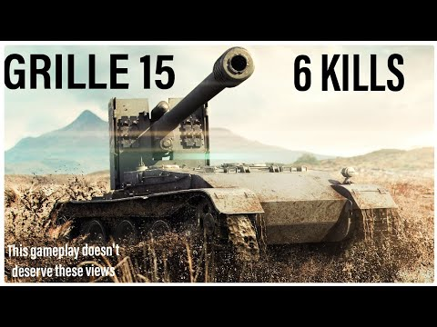 World of Tanks PS4 | Grille 15 Top Gun
