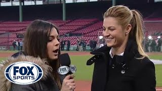 Erin Andrews joins Katie Nolan to talk World Series