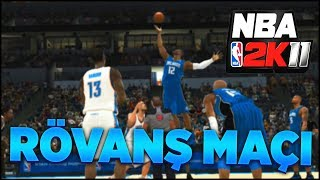 """NBA 2K11"" RÖVANŞ MAÇI! Efsane OKC vs Efsane Orlando Magic! Türkçe NBA Nostalji Serisi"
