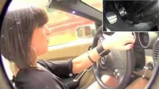Fast Driving Girls - Jackye Mercedes SLK R171 - Mountain Roads (V030)