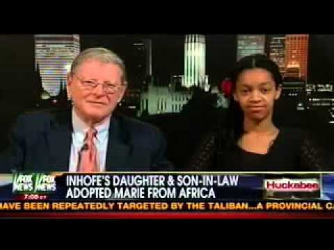 Inhofe Discusses Family's Adoption on Huckabee